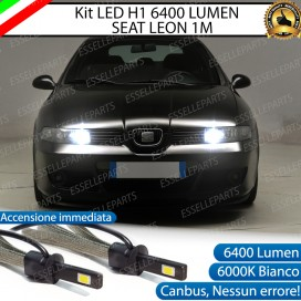 Kit Full LED H1 Abbaglianti 6400 lumen Seat Leon 1 (1M)