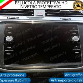 """Pellicola Protettiva per Schermo Autoradio """" Composition Media"""" VW GOLF VII RESTYLING"""
