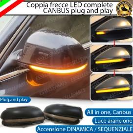 Set Frecce Dinamiche per Specchietti laterali VW GOLF VI (Non compatibile con versione variant ovvero station wagon)