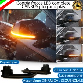 Set Frecce Dinamiche per Specchietti laterali AUDI A4 B8 dal 06/2009 in poi