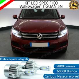 Kit Full LED H7 9800 LUMEN Anabbaglianti VW TIGUAN I 5N RESTYLING