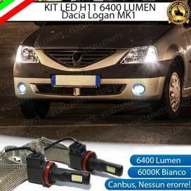 Kit Full LED H11 Fendinebbia 6400 LUMEN Dacia Logan I