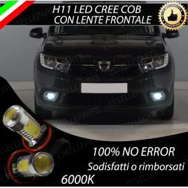 Luci Fendinebbia H11 LED COB 900 LUMEN Dacia Sandero II