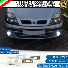 Kit Full LED Fendinebbia H1 10000 LUMEN RENAULT SCENIC I