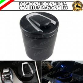 Posacenere con led BLU per Fiat Punto Evo