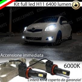 KitFull LEDFendinebbia H11 6400 LUMENTOYOTAYARIS II