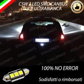 Luce targa 3 LED Canbus