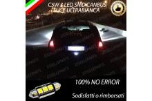 Luce targa 3 LED Canbus CLIO II