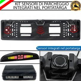 Kit Sensori di Parcheggio con portatarga per Renault Clio 3