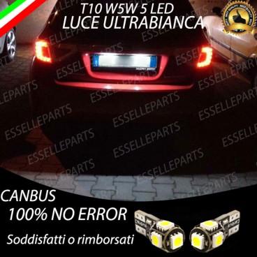 Luci targa 5 LED Canbus YARIS III