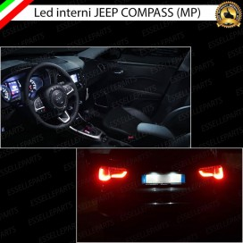 Led interni + Targa per Jeep Compass II