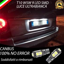 Luci targa 9 LED Canbus