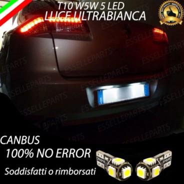 Luci targa 5 LED Canbus