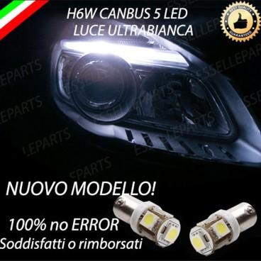 Luci posizione 5 LED per faro lenticolare