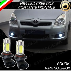 Luci Fendinebbia HB4 LED COB 900 LUMEN Toyota Corolla Verso