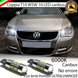 Luci posizione T10 W5W 10 LED Canbus Volkswagen EOS 1