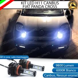 Kit Full LED H11 Fendinebbia 9800 LUMEN FIAT PANDA III CROSS