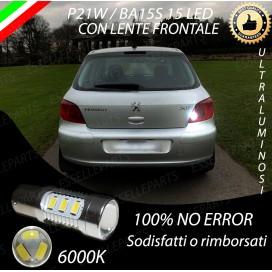 Luce Retromarcia 15 LED Peugeot 307 CON LENTE FRONTALE