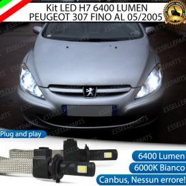 KitFull LED H7 6400 LUMEN AnabbagliantiPEUGEOT307
