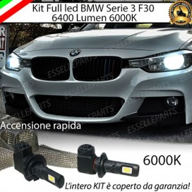 Kit Full LED H7 6400 LUMEN Anabbaglianti BMW SERIE 3 F30