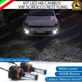 Kit Full LED H8 Fendinebbia VW SCIROCCO RESTYLING
