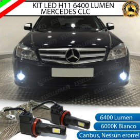 Kit Full LED H11 Fendinebbia 6400 LUMEN MERCEDES CLC