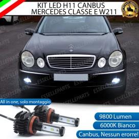 Kit Full LED H11 Fendinebbia 9800 LUMEN MERCEDES CLASSE E W211