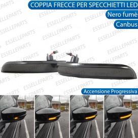 Coppia Frecce LED Dinamiche Laterali per specchietti Ford Kuga II