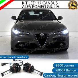 Kit Full LED H7 9800 LUMEN Anabbaglianti ALFA ROMEO GIULIA