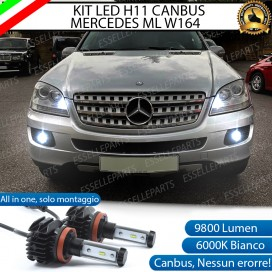 Kit Full LED H11 Fendinebbia 9800 LUMEN MERCEDES ML W164