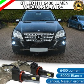 Kit Full LED H11 Fendinebbia 6400 LUMEN MERCEDES ML W164