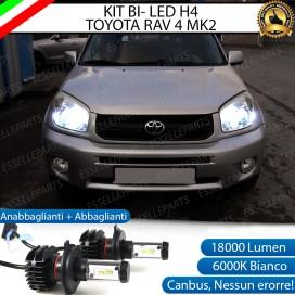 Kit Full LED H4 18000 LUMEN Anabbaglianti/Abbaglianti TOYOTA RAV 4 II