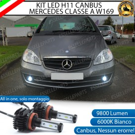 Kit Full LED H11 Fendinebbia 9800 LUMEN MERCEDES CLASSE A W169
