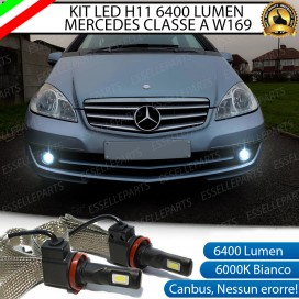 Kit Full LED H11 Fendinebbia 6400 LUMEN MERCEDES CLASSE A W169