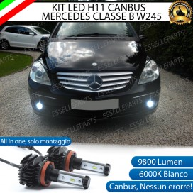 Kit Full LED H11 Fendinebbia 9800 LUMEN MERCEDES CLASSE B W245