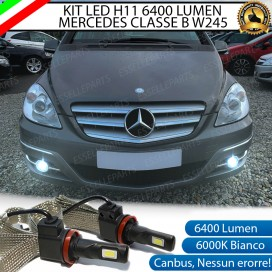 Kit Full LED H11 Fendinebbia 6400 LUMEN MERCEDES CLASSE B W245