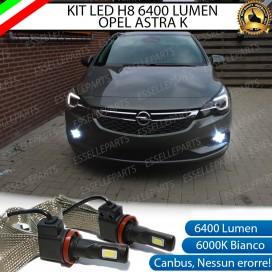KitFull LED H8 6400 LUMEN FendinebbiaOPELASTRA K
