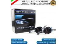 Kit Full LED H7 coppia lampade ABBAGLIANTI ALFA ROMEO SPIDER