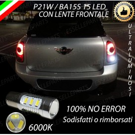 Luce Retromarcia 15 LED MINI COUNTRYMAN R60 CON LENTE FRONTALE