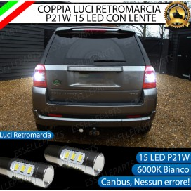 Luci Retromarcia 15 LED Land Rover Freelander II CON LENTE FRONTALE