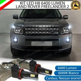 Kit Full LED H11 Fendinebbia 6400 LUMEN Land Rover Freelander II