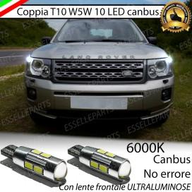 Luci posizione T10 W5W 10 LED Canbus Land Rover Freelander II