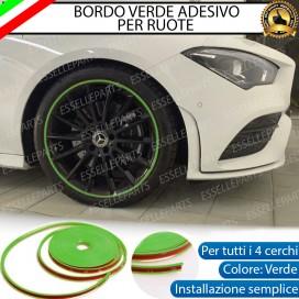 Bordo Verde adesivo di protezione per ruote
