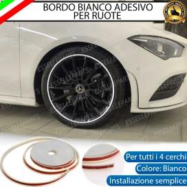 Bordo Bianco adesivo di protezione per ruote