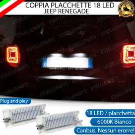 Placchette a LED Complete per JEEP RENEGADE