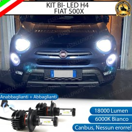 Kit Full LED H4 18000 LUMEN per FIAT 500X