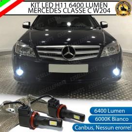Kit Full LED H11 Fendinebbia 6400 LUMEN MERCEDES CLASSE C W204