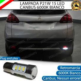 Luce Retromarcia 15 LED Peugeot 2008 CON LENTE FRONTALE