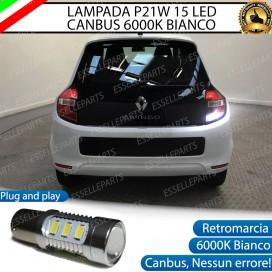 Luce Retromarcia 15 LED Renault Twingo 3 CON LENTE FRONTALE