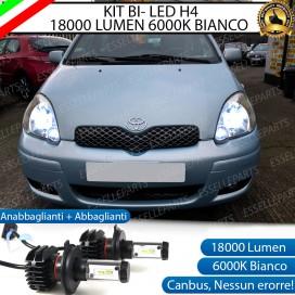 Kit Full LED H4 18000 LUMEN Anabbaglianti/Abbaglianti TOYOTA YARIS I